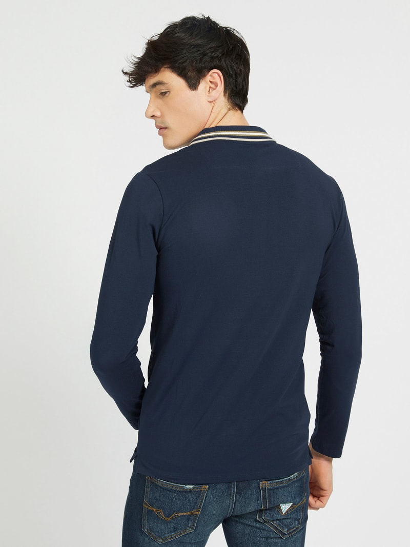 LONG SLEEVES POLO image number 2
