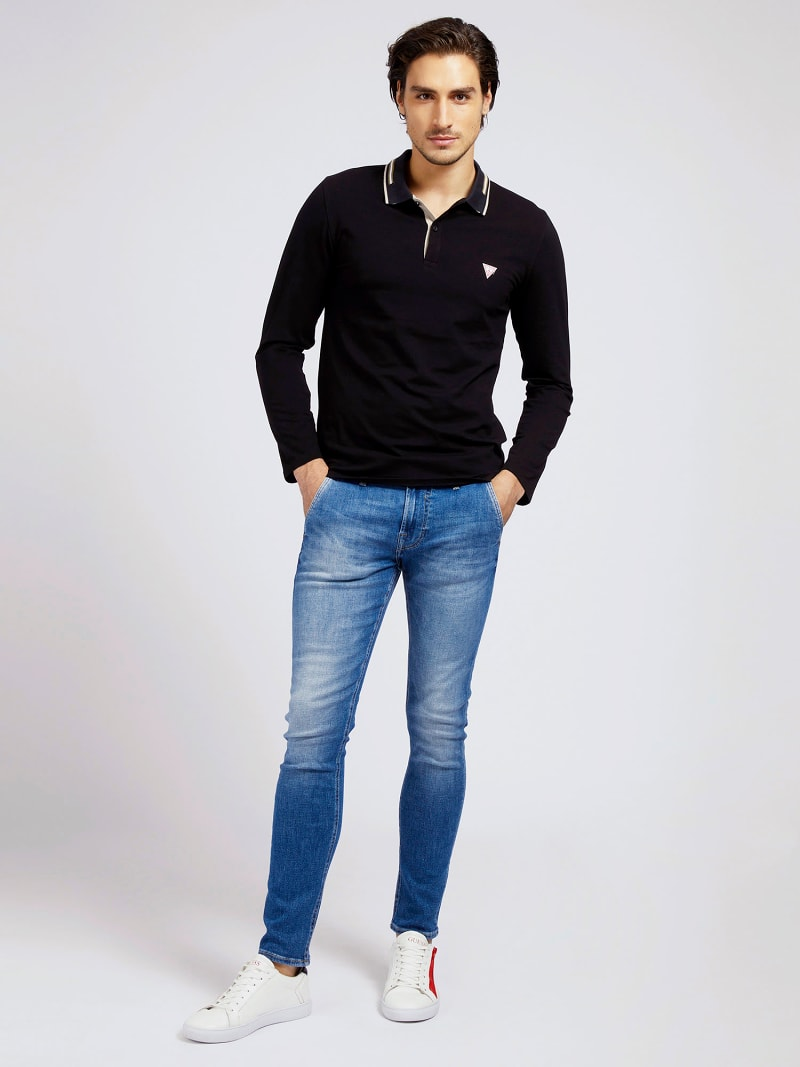 LONG SLEEVES POLO image number 0