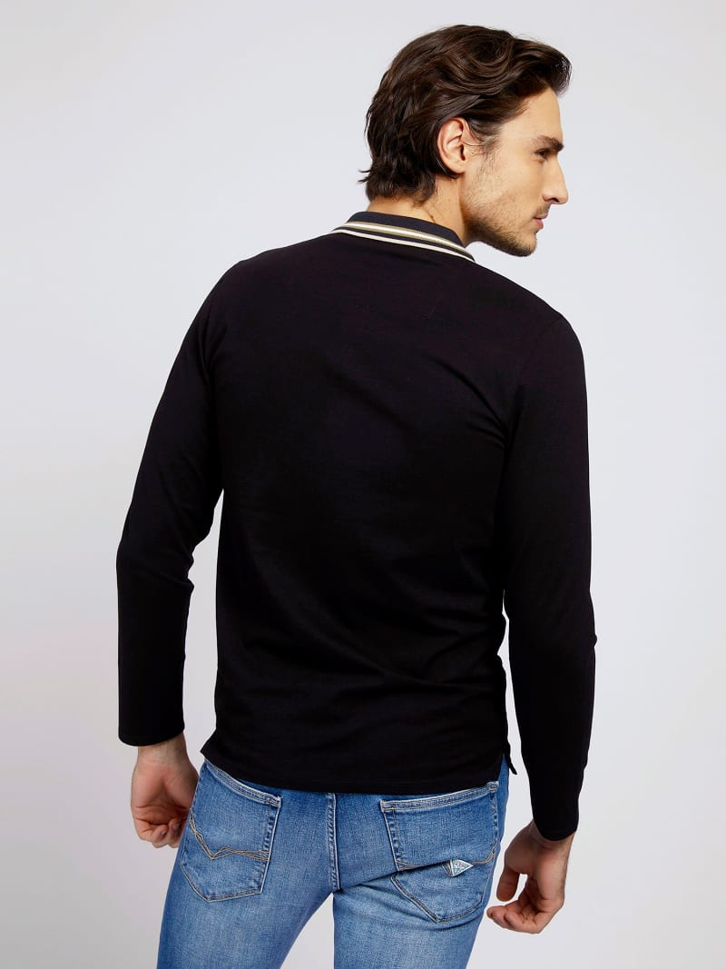 LONG SLEEVES POLO image number 1
