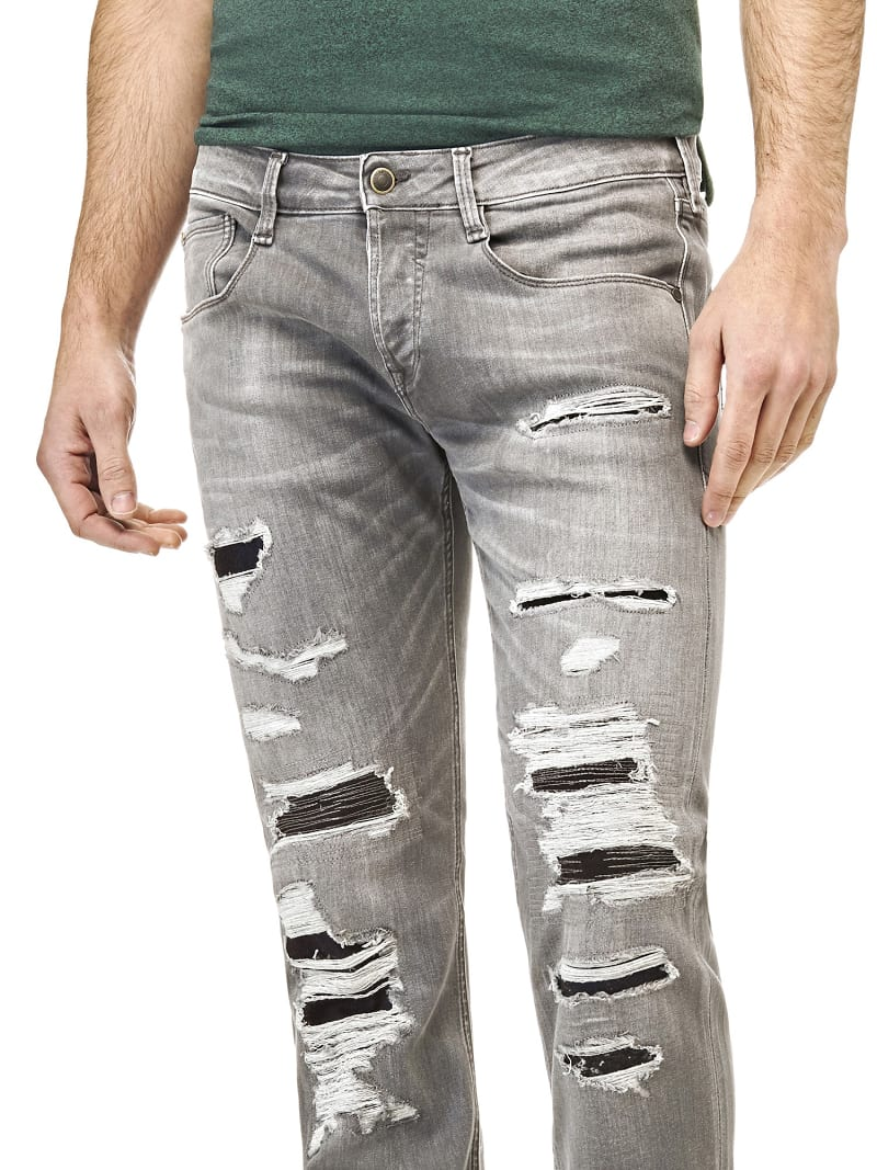 JEANS STRAPPI FRONTALI image number 0