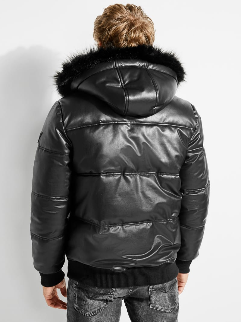COATED-LOOK JACKET image number 2