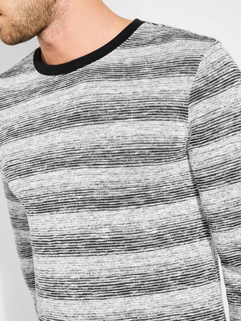 STRIPED SWEATER image number 1