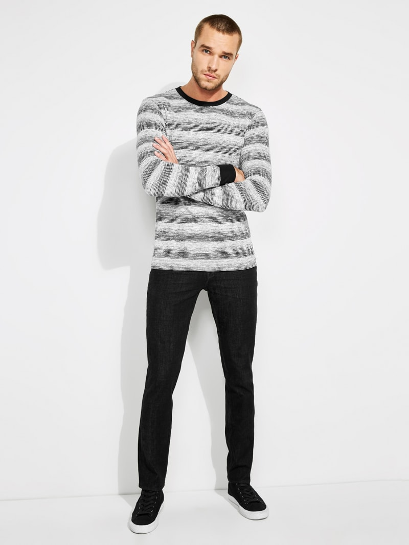 STRIPED SWEATER image number 2
