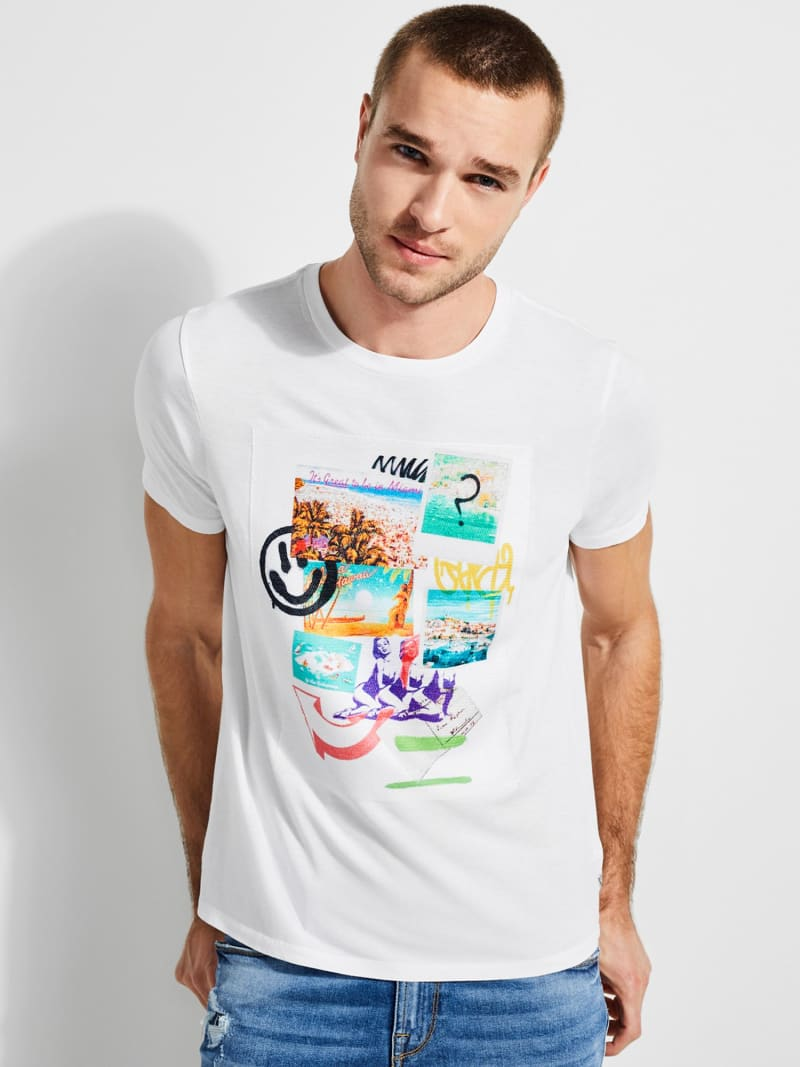 PRINTED FRONT T-SHIRT image number 0