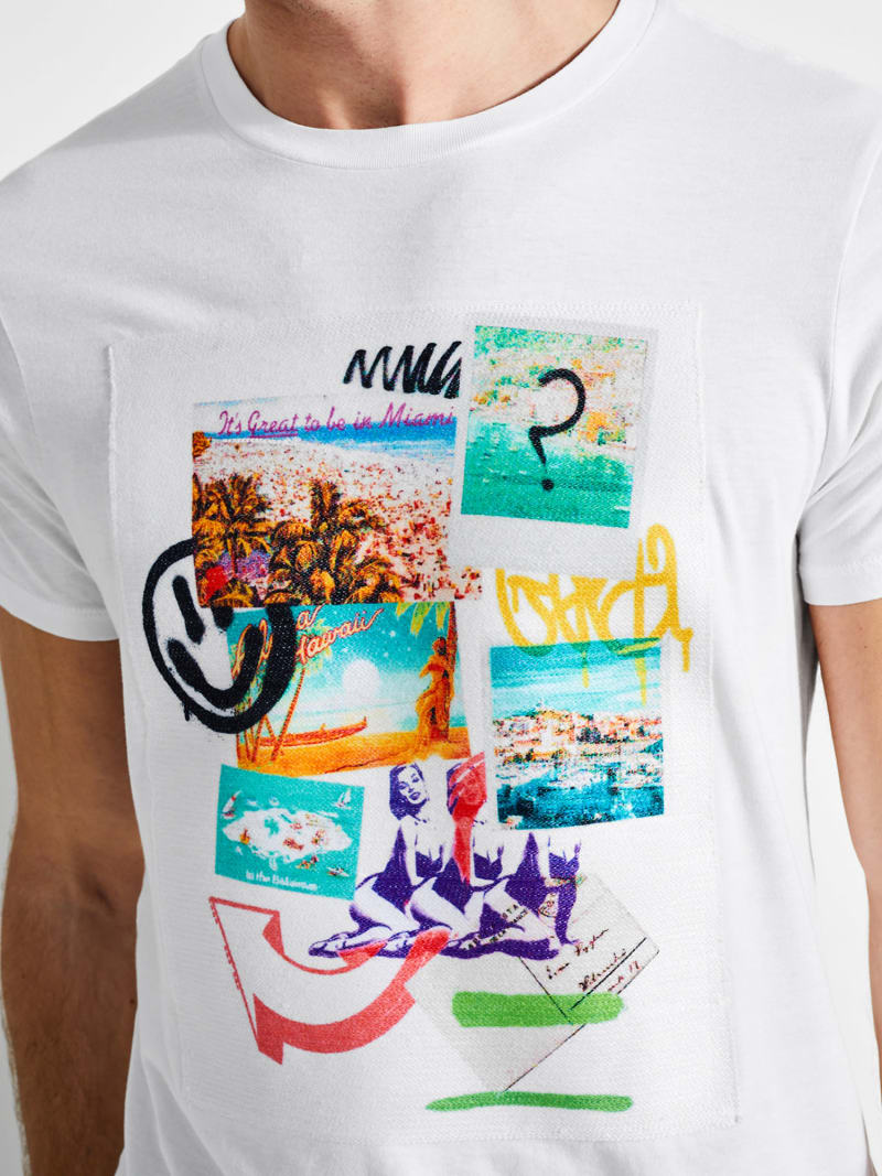 PRINTED FRONT T-SHIRT image number 1