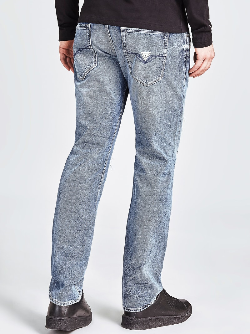 LOW-RISE SLIM JEANS image number 2