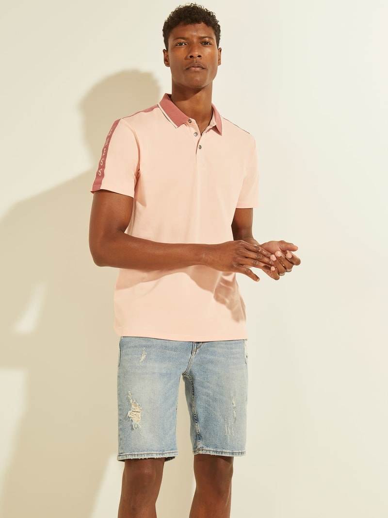 CONTRASTING POLO image number 0