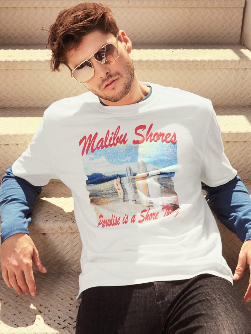 MALIBU PRINT T-SHIRT image number 1