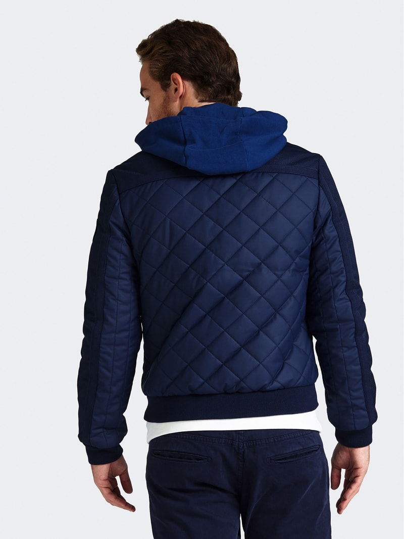 QUILTED-LOOK PADDED JACKET image number 2