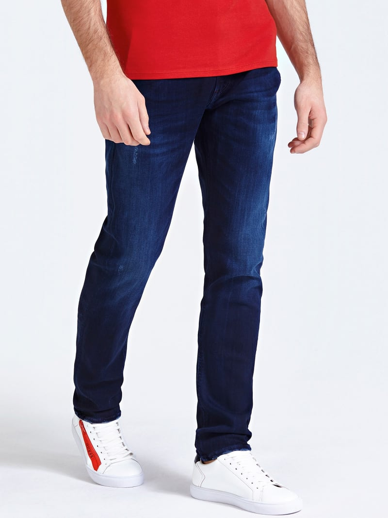 USED-LOOK JEANS image number 0