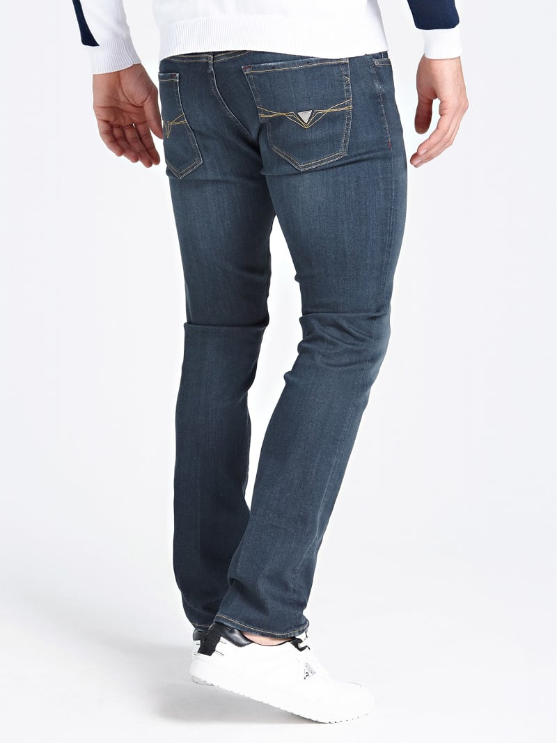 USED-LOOK SKINNY JEANS image number 2