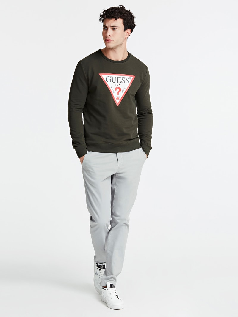 TRIANGLE LOGO FRONT SWEATSHIRT image number 1