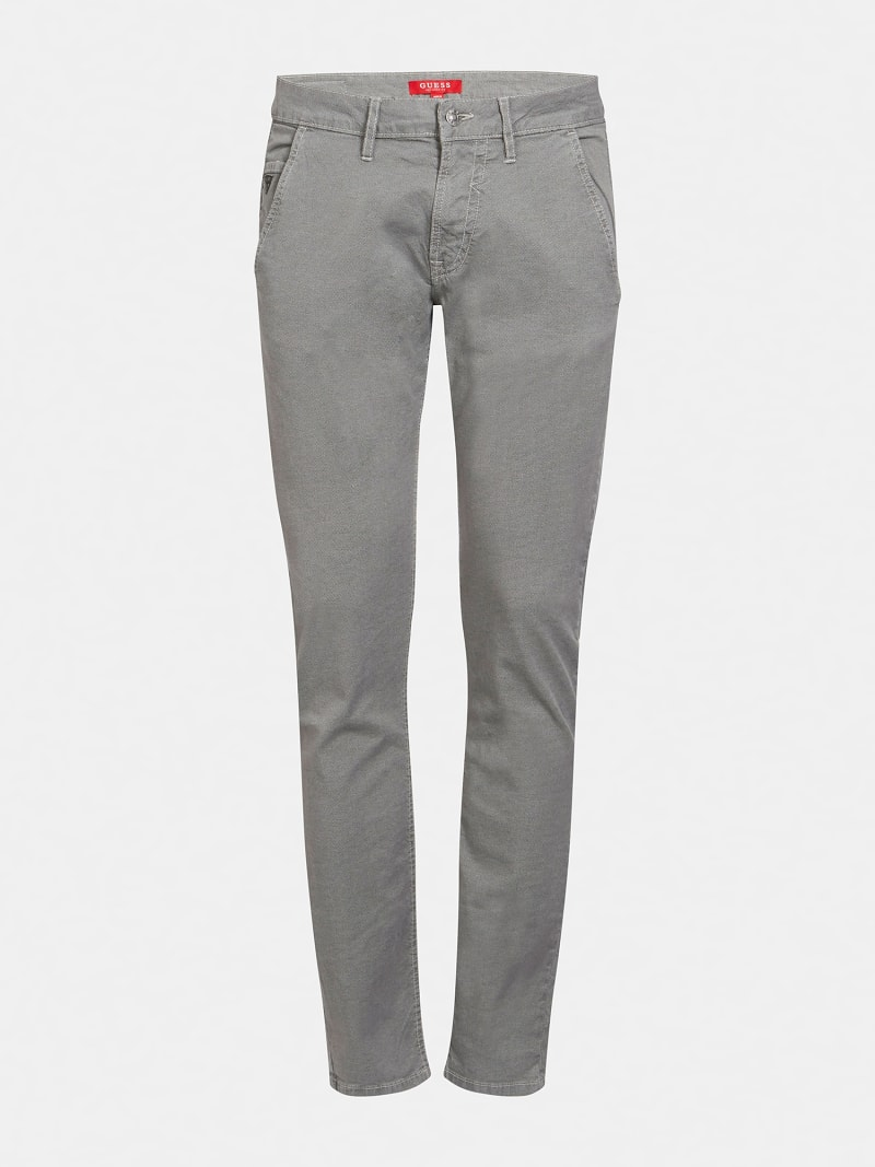 ZIPPER SKINNY FIT PANT image number 0
