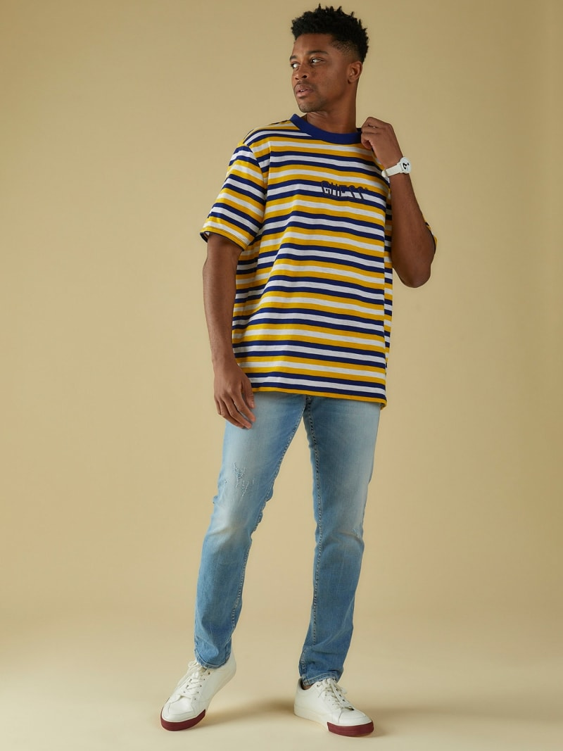 STRIPE MOTIF T-SHIRT image number 2