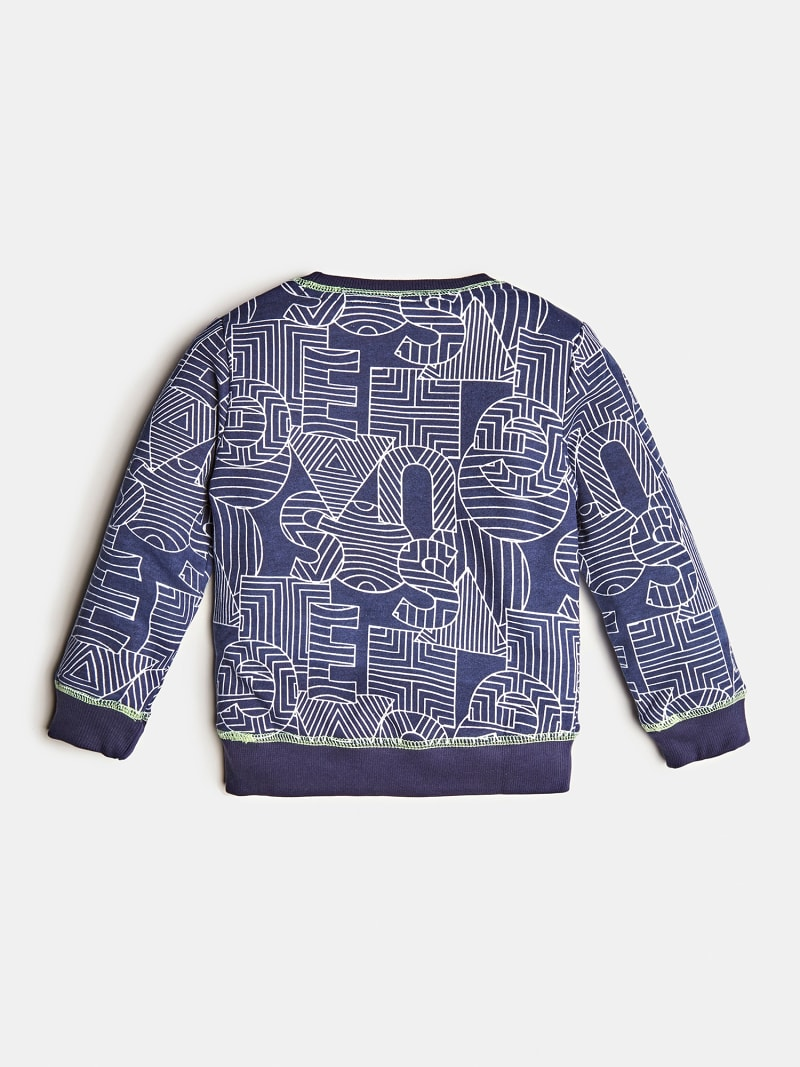 ALL OVER PRINT SWEATSHIRT image number 1