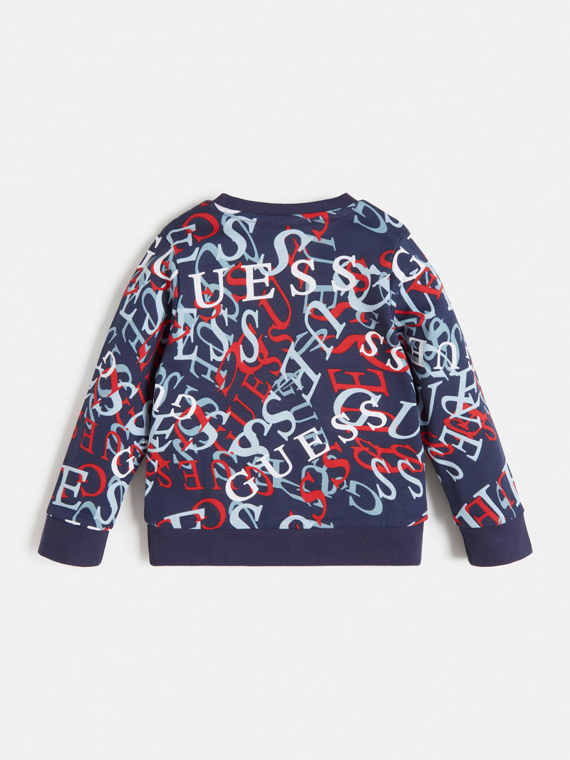 ALL OVER PRINT LOGO SWEATSHIRT image number 1