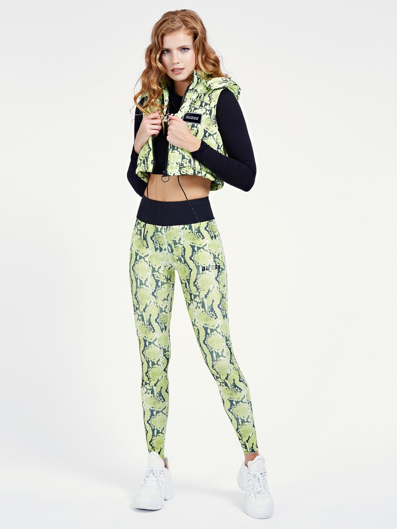 ALL OVER PRINT PUFFER JACKET image number 1