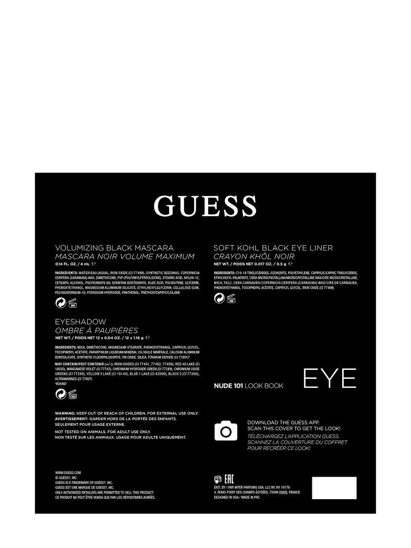 GUESS NUDE EYE PALETTE image number 3