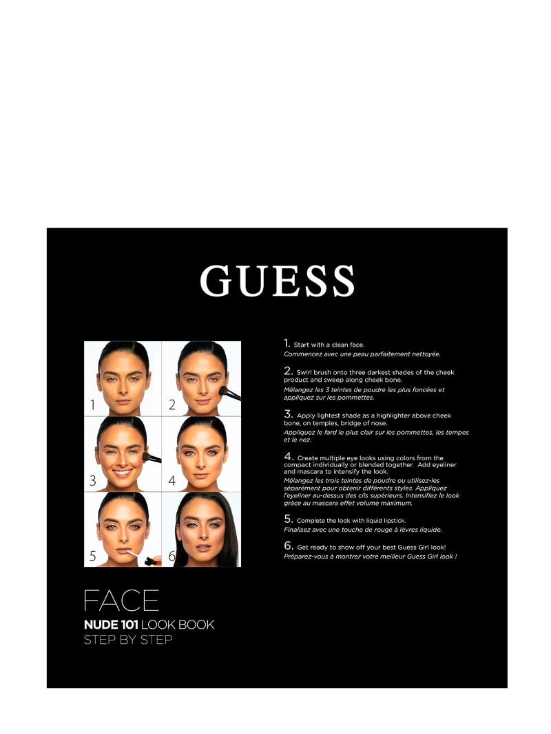 GUESS PALETTE GESICHTS-MAKE-UP NUDE image number 2