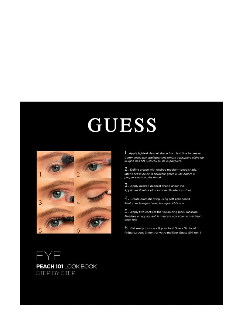 GUESS PEACH EYE PALETTE image number 2