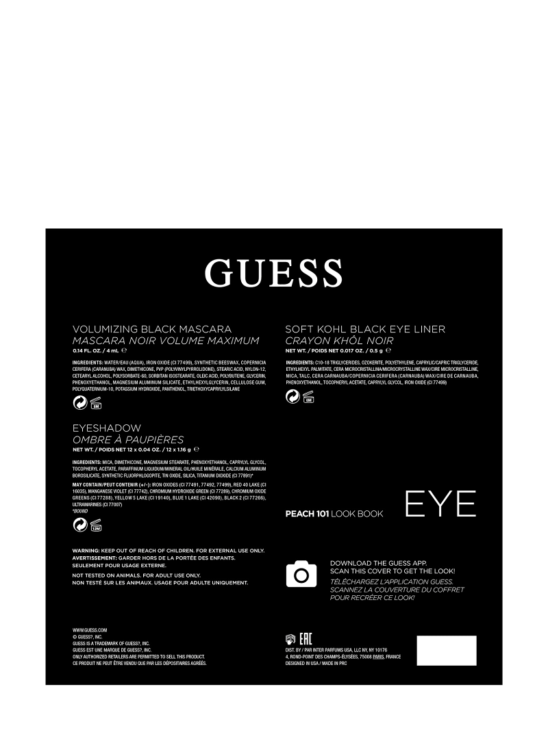 GUESS PEACH EYE PALETTE image number 3
