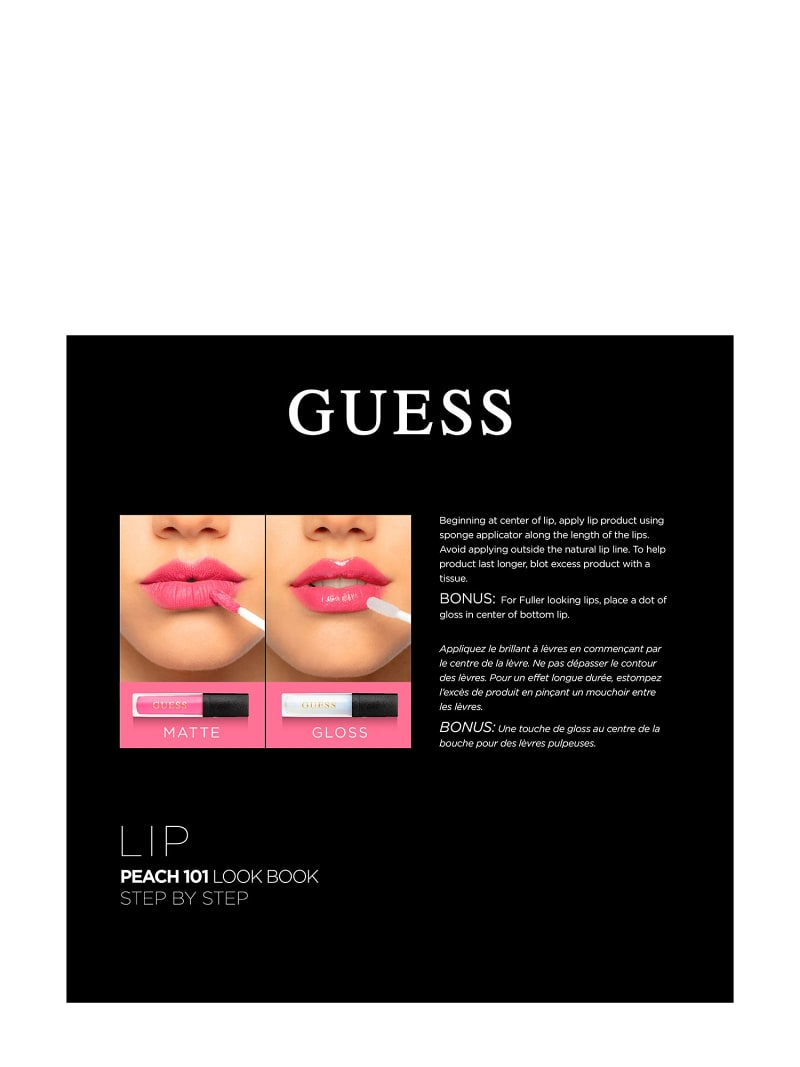 GUESS PEACH LIP PALETTE image number 2