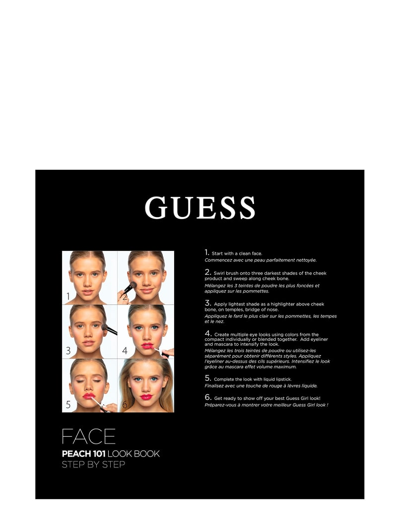 GUESS PEACH FACE PALETTE image number 2
