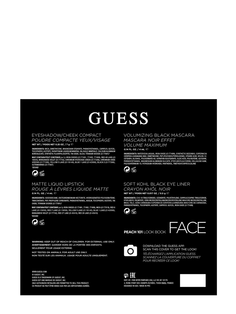GUESS PEACH FACE PALETTE image number 3
