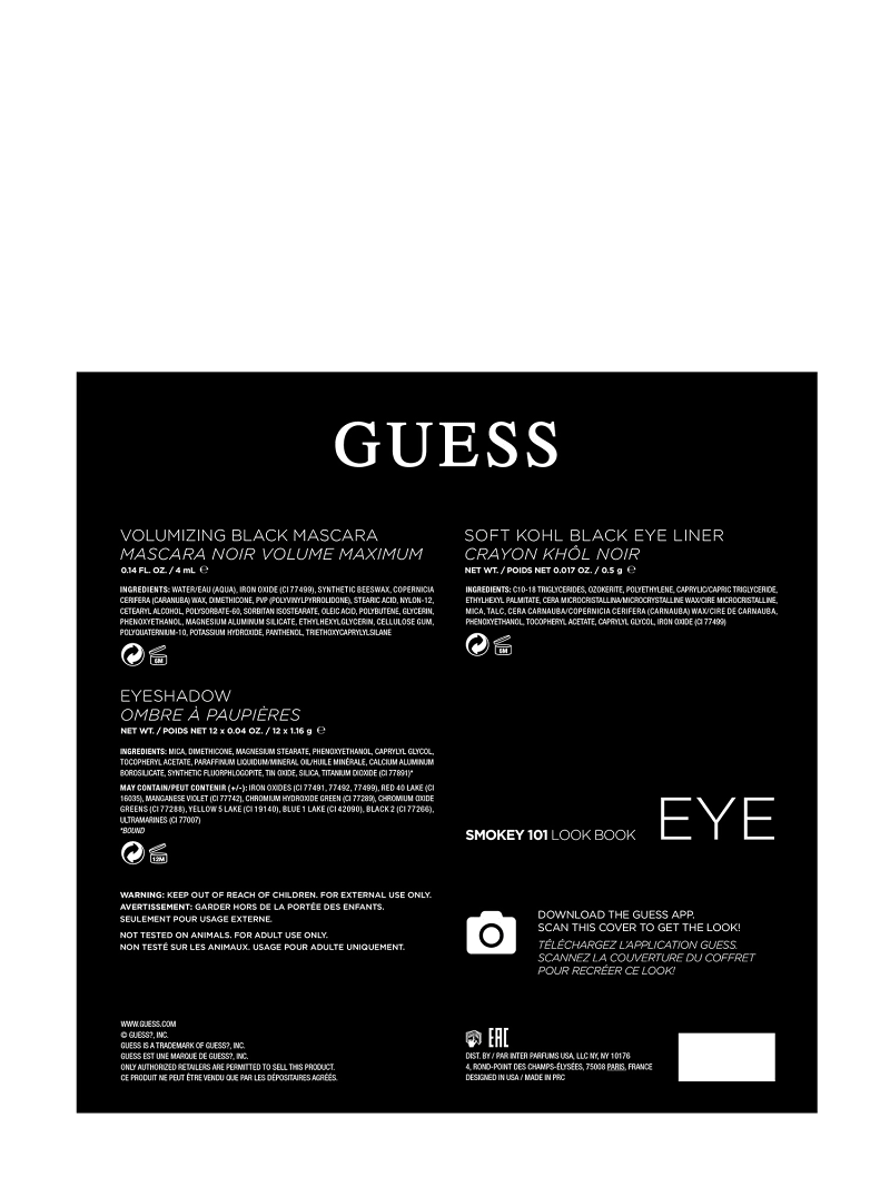 GUESS SMOKEY EYE PALETTE image number 3