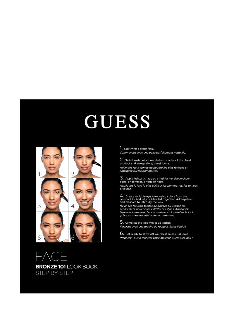 GUESS BRONZE FACE PALETTE image number 2