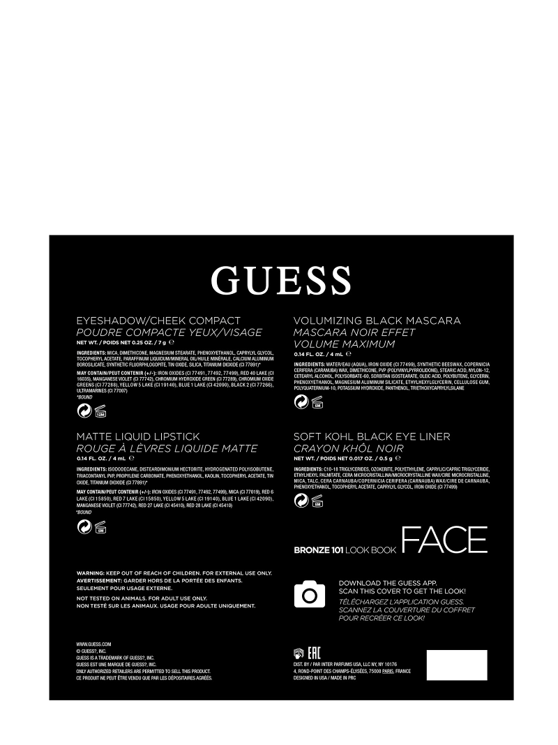 GUESS BRONZE FACE PALETTE image number 3