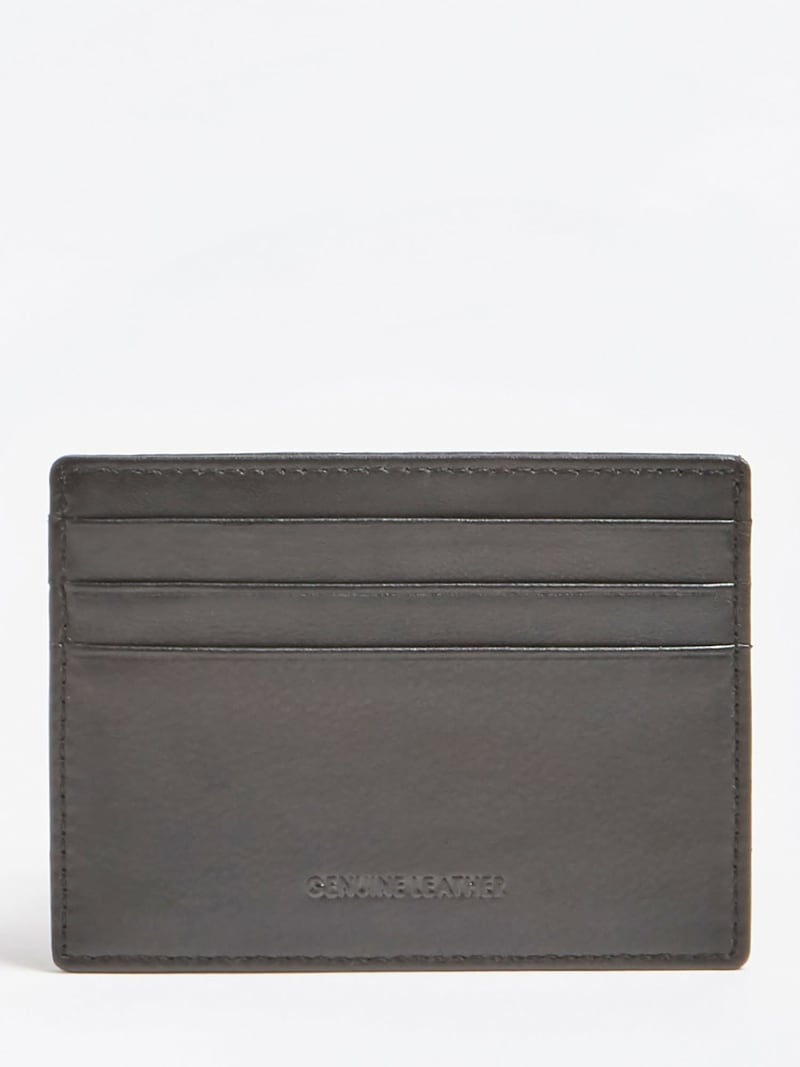 NEW BOSTON LEATHER CREDIT CARD CASE image number 1