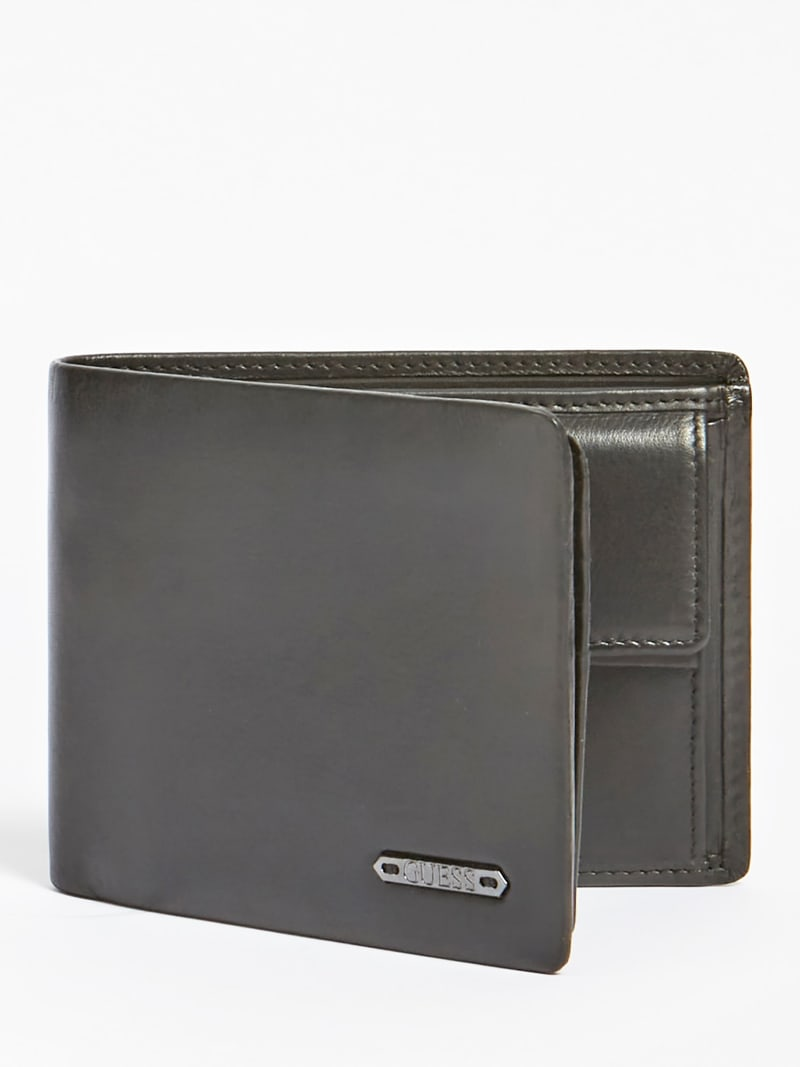 TYLER REAL LEATHER WALLET image number 0