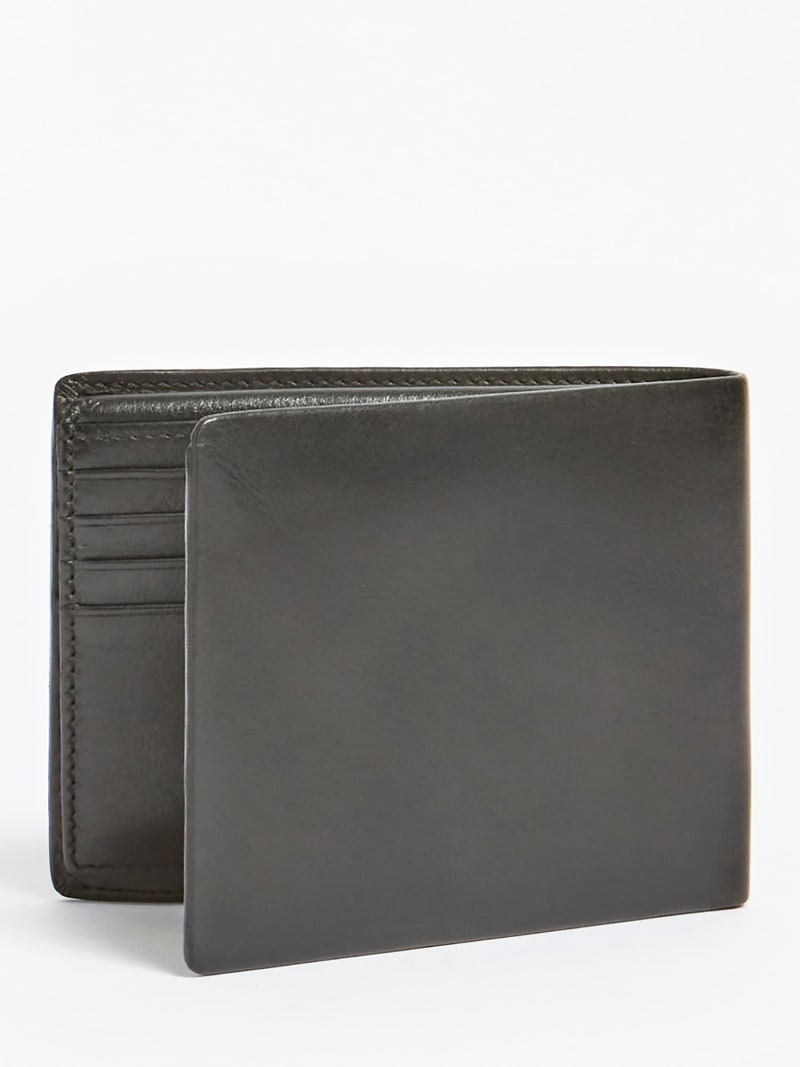 TYLER REAL LEATHER WALLET image number 1