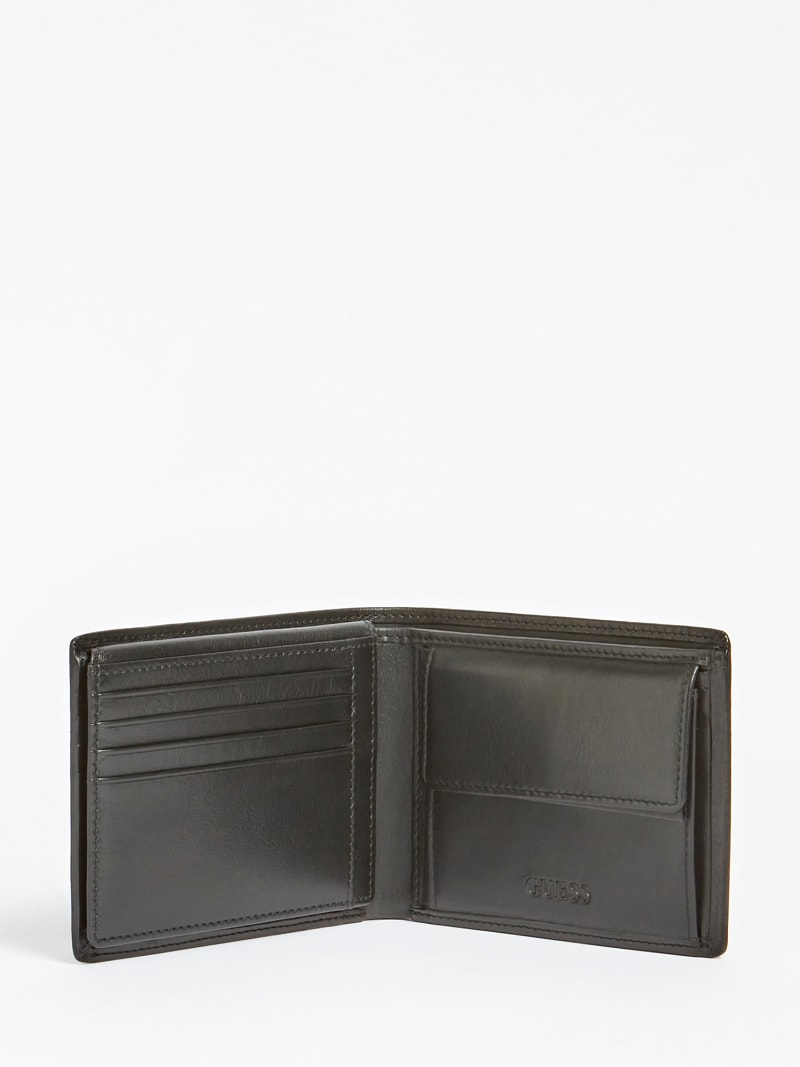 TYLER REAL LEATHER WALLET image number 2