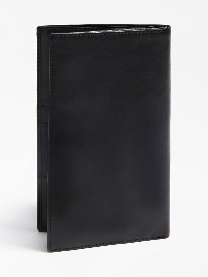 CERTOSA REAL LEATHER TRAVEL WALLET image number 1