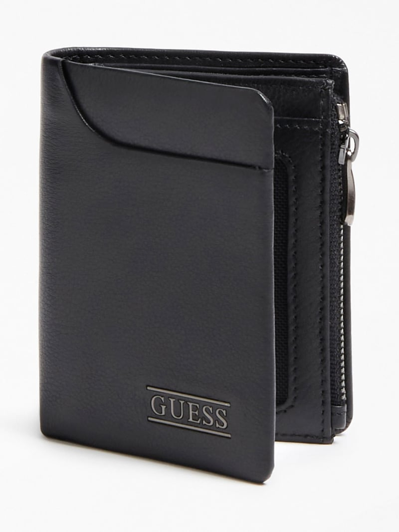 NEW BOSTON REAL LEATHER WALLET image number 0