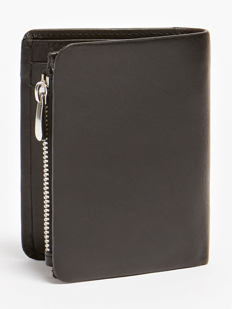NEW BOSTON REAL LEATHER WALLET image number 1