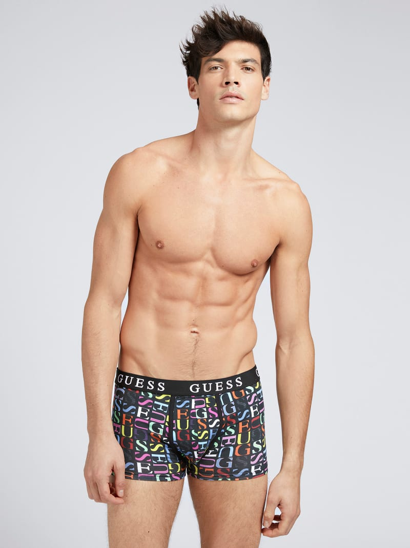 ALL OVER LOGO BOXER TRUNK 3 PACK image number 0