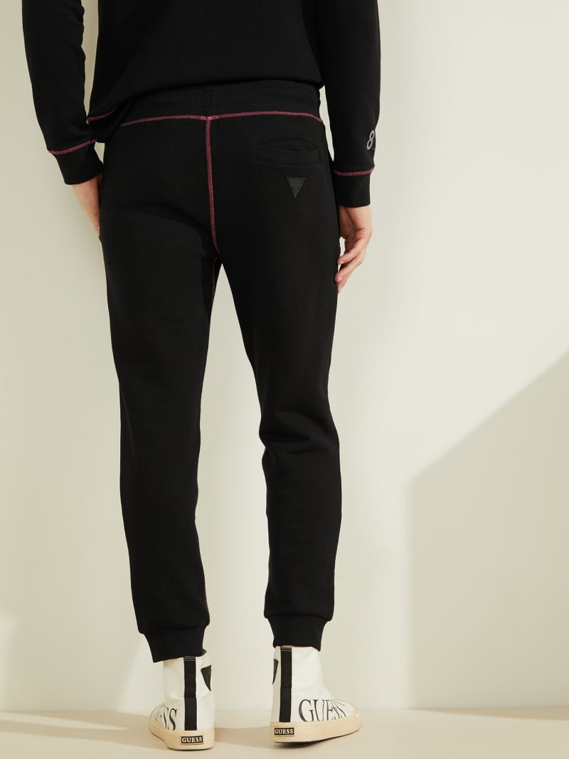 RIB FLEECE LOGO PANT image number 4