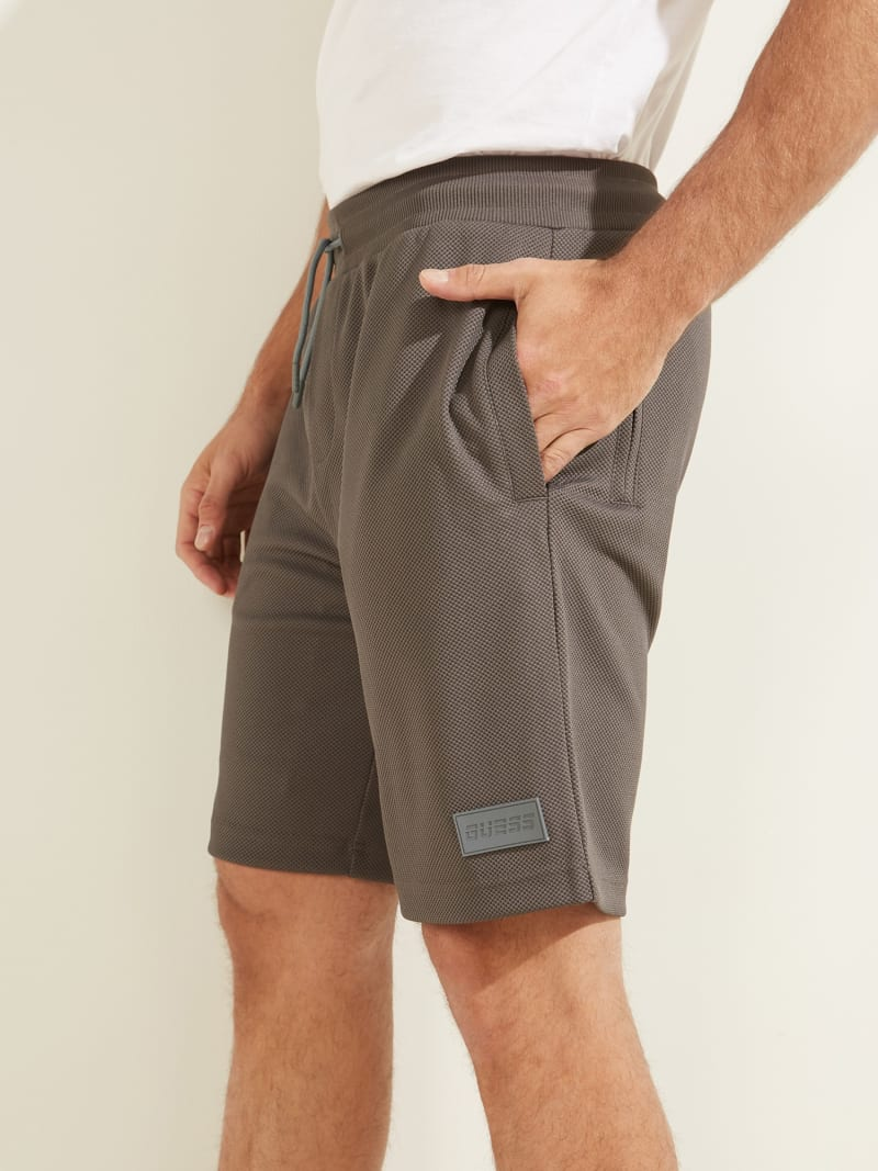 DRAWSTRING PIQUET SHORT PANT image number 2