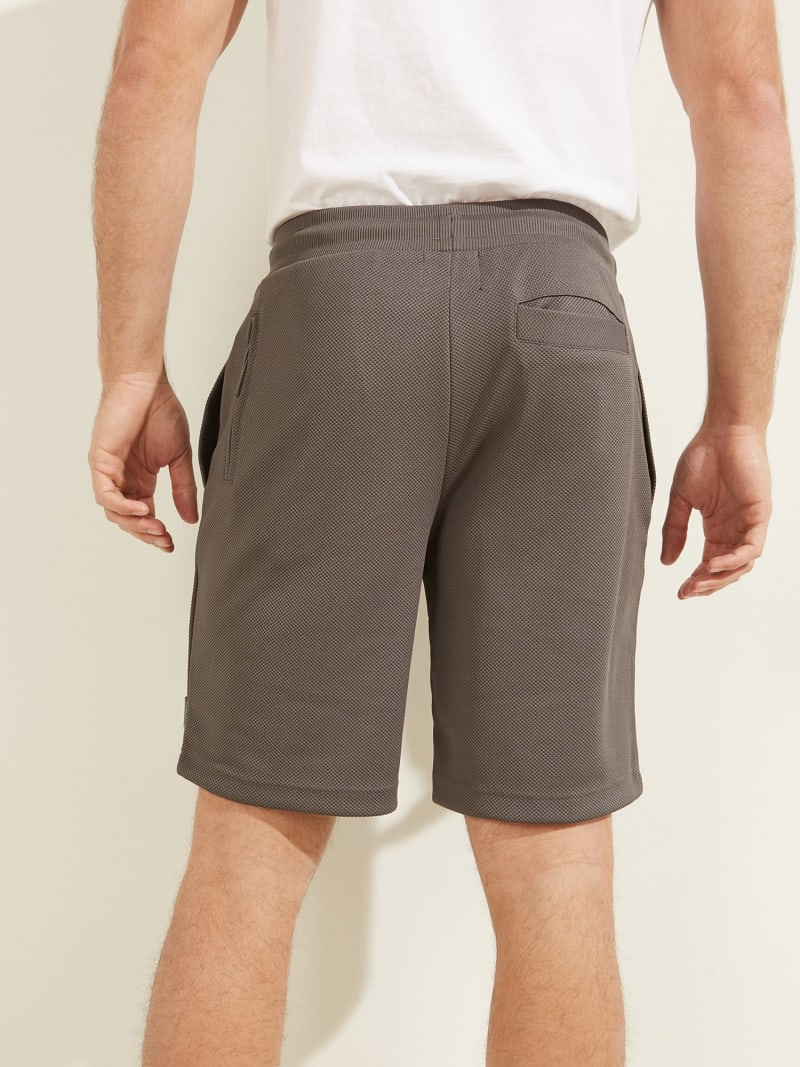 DRAWSTRING PIQUET SHORT PANT image number 3