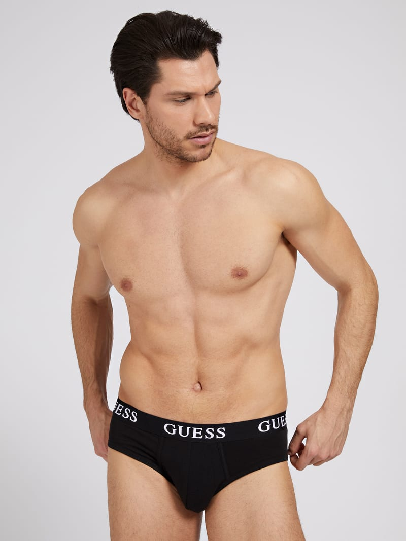 LOGO ELASTIC TAPE BRIEF PACK 3 image number 0