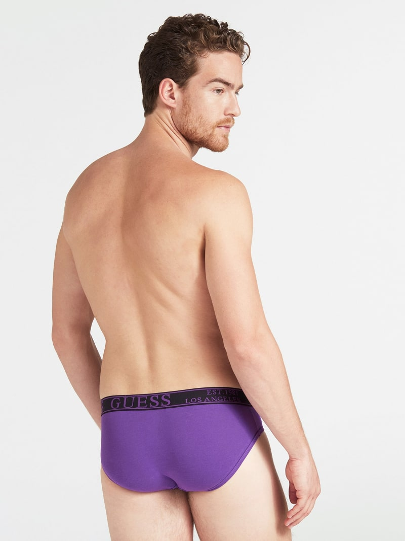 STRETCH COTTON BRIEFS image number 1