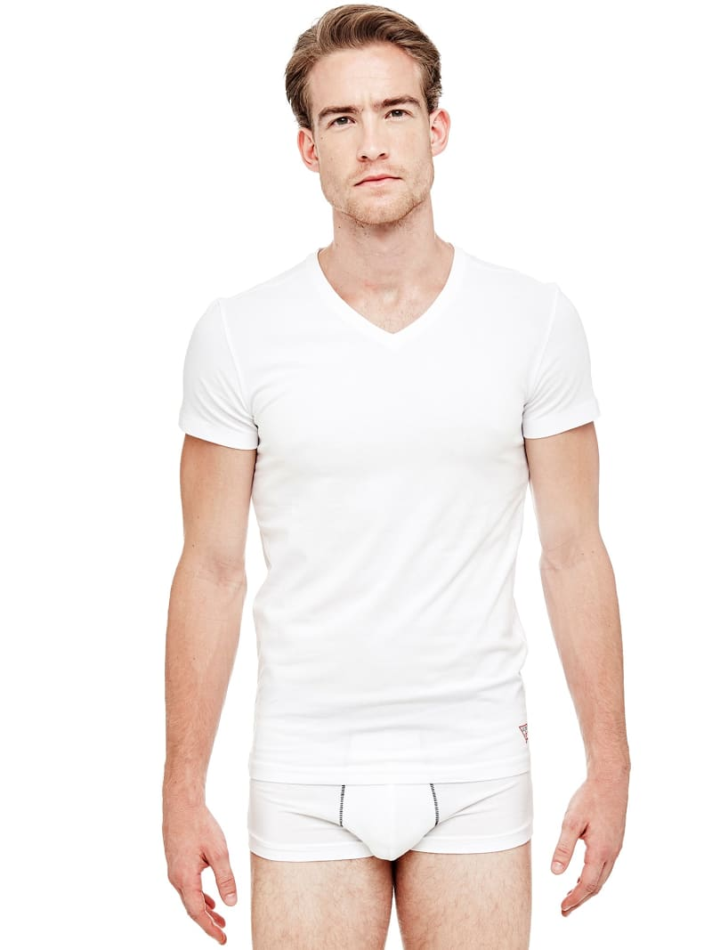 PACK 2 STRETCH COTTON T-SHIRT HERO image number 0