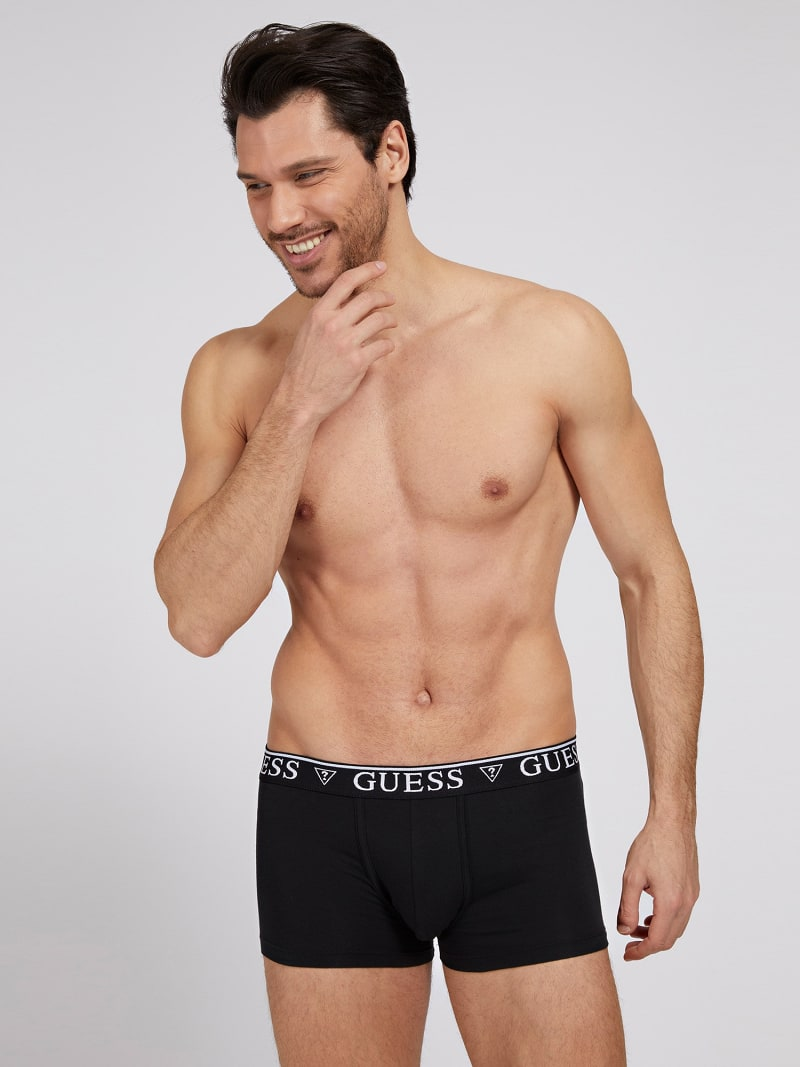 BOXERS WITH LOGO ELASTIC image number 0