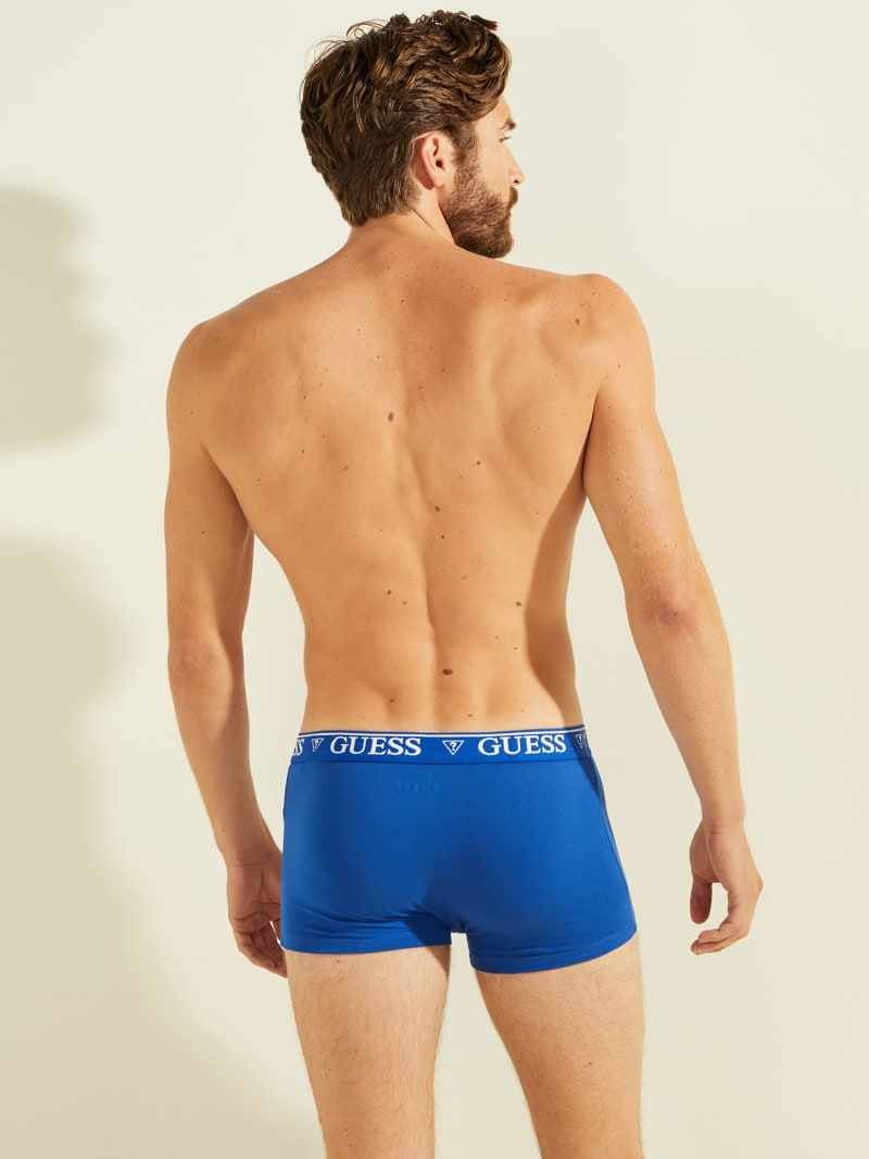 BOXERS WITH LOGO ELASTIC image number 1