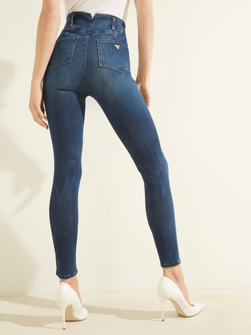 WARM TOUCH SKINNY FIT DENIM PANT image number 2