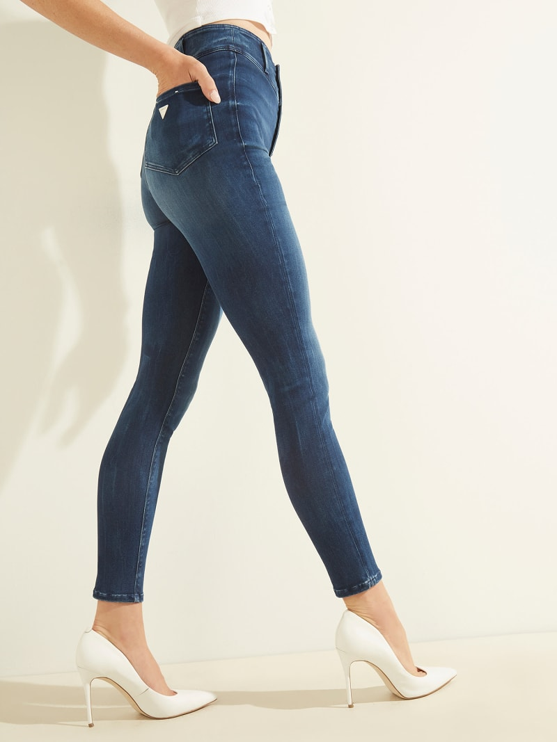 WARM TOUCH SKINNY FIT DENIM PANT image number 3
