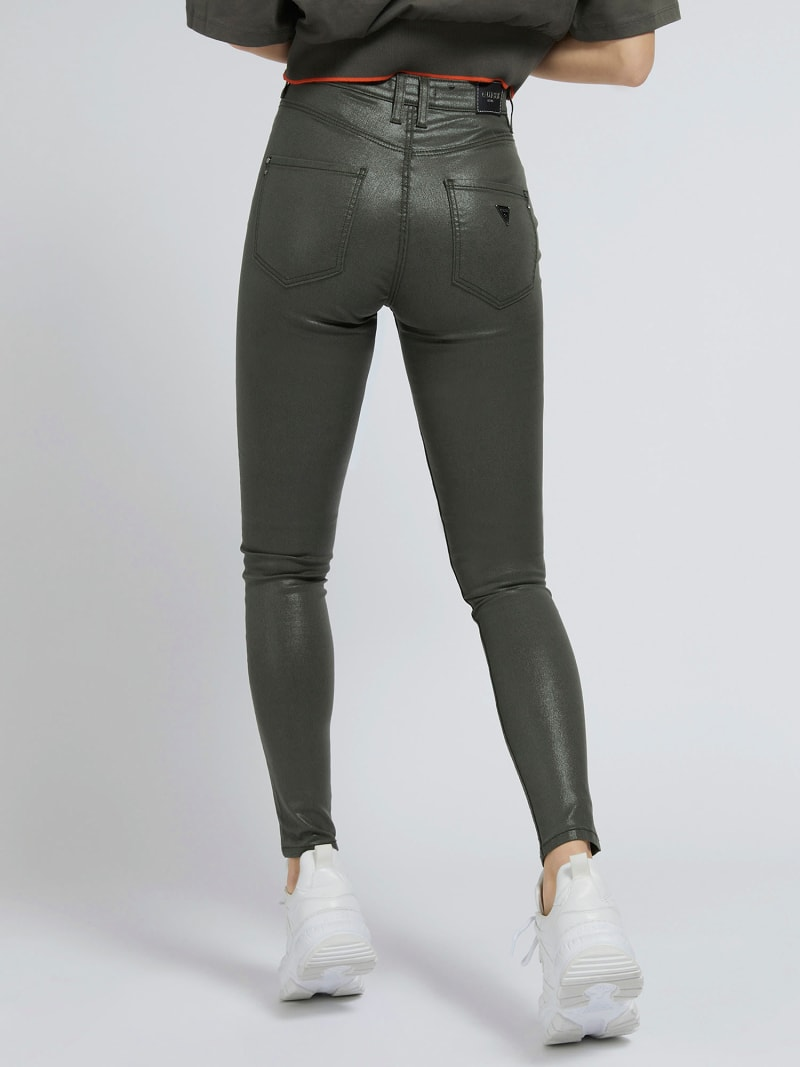 COATED SKINNY FIT PANT image number 2